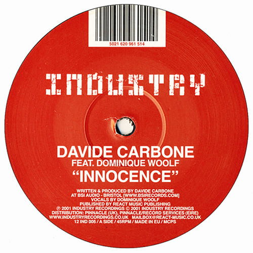 Download Davide Carbone Feat. Dominique Woolf - Innocence mp3