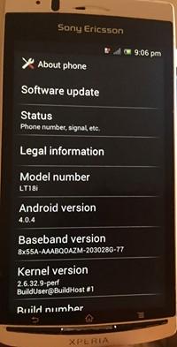 تفليش هاتف sony ericsson lt18i وحل مشكلة اعادة التشغيل التلقائي ...