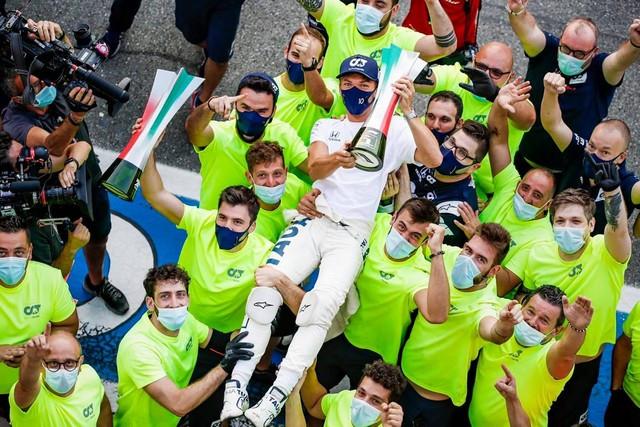 F1 GP d'Italie 2020 : Victoire Pierre Gasly (Alpha Tauri) 2020-Pierre-Gasly