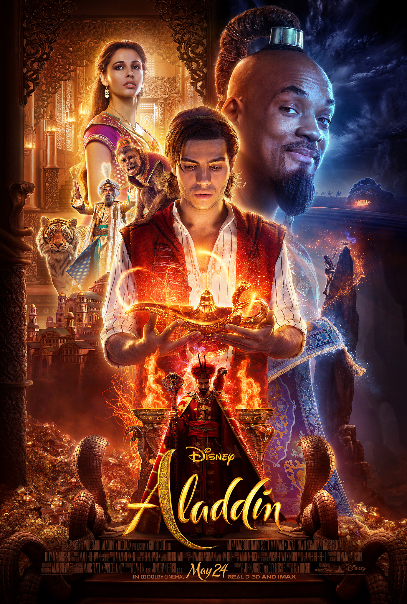 Aladdin (2019)Hindi Dubbed Movie Pre-DVDRip 720p
