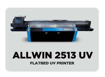 ALLWIN 2513 UV FLATBED PRINTER