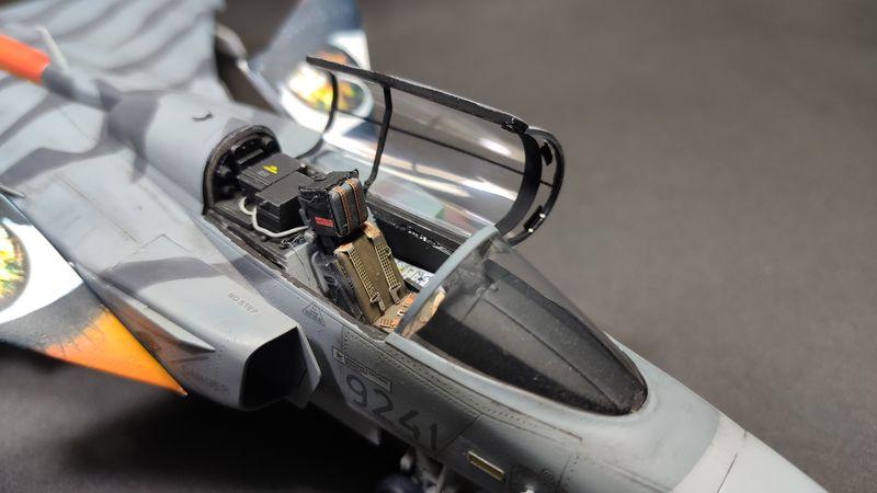 """MT: Jas-39C Gripen """"Wild Tiger"""" NTM 2017 Kitty Hawk 1/48 IMG-20200209-194954"""
