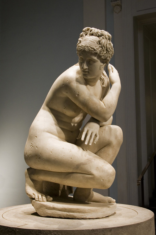 An image of a statue of Aphrodite at the British Museum.