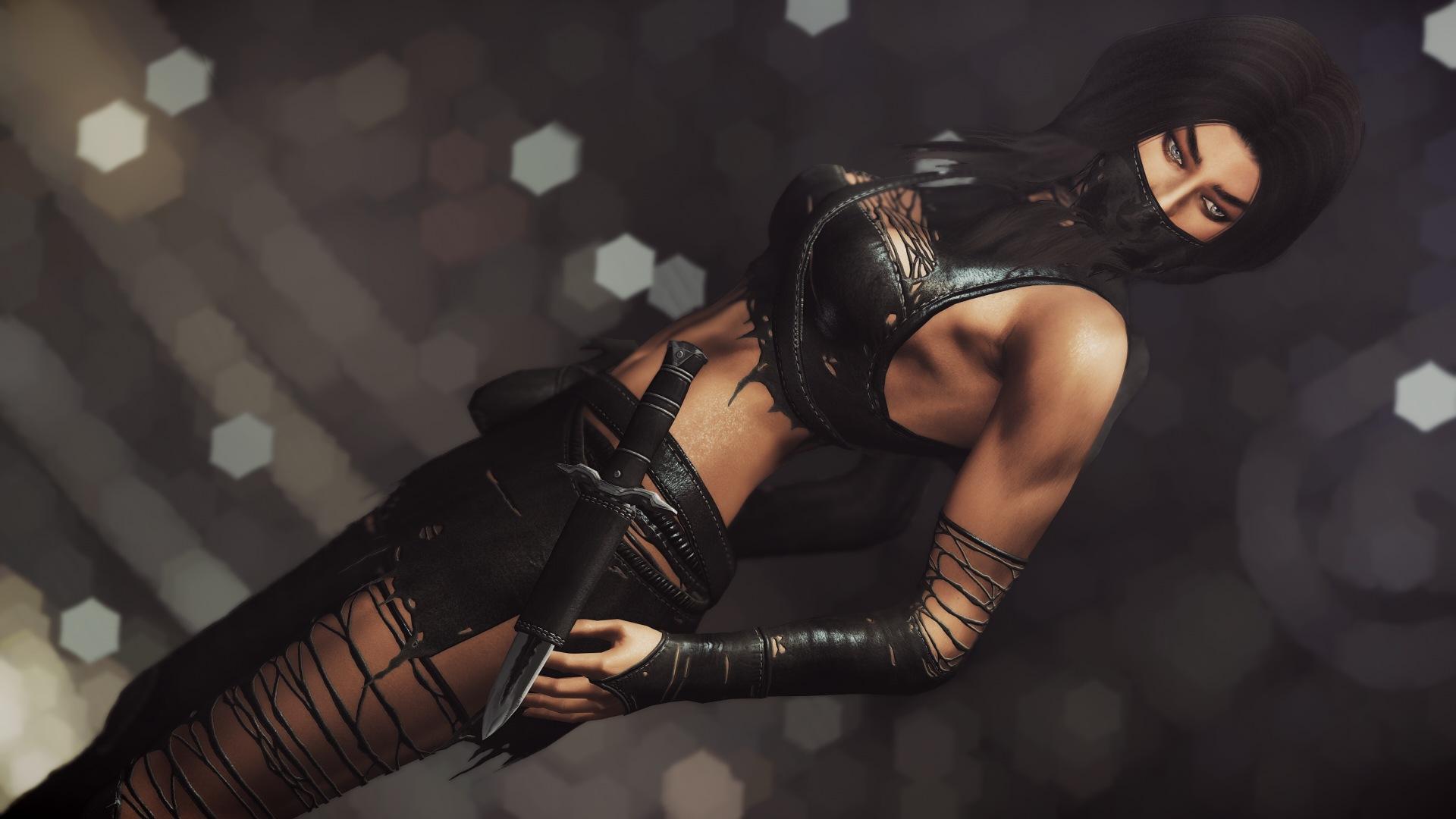 Скачать Селес - броня разбойницы от DeserterX (LE) / DX Celes Rogue Armor