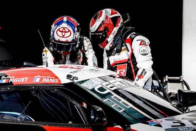 La Toyota Supra GT4 à deux doigts du podium ! Panisxpiguet