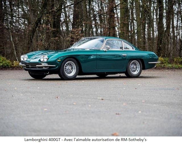 Lamborghini Miura SV et Countach LP 400 «Periscopio» atteignent des prix records à la vente RM Sotheby's Paris 579667-v2