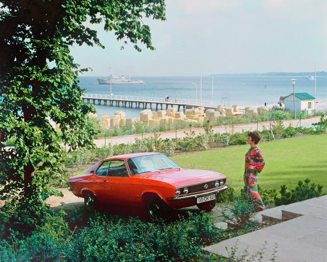 Comme il y a 50 ans : l'Opel Manta retrouve Timmendorfer Strand Opel-Manta-18307