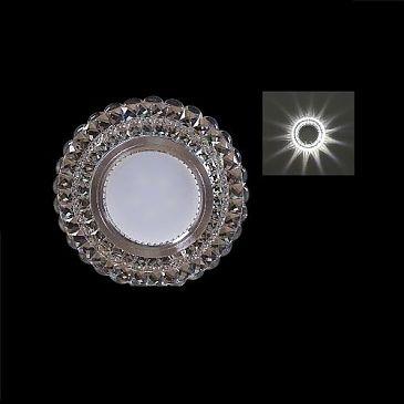 Светильник точечный 11056-9.0-001LD MR16+LED3W WH