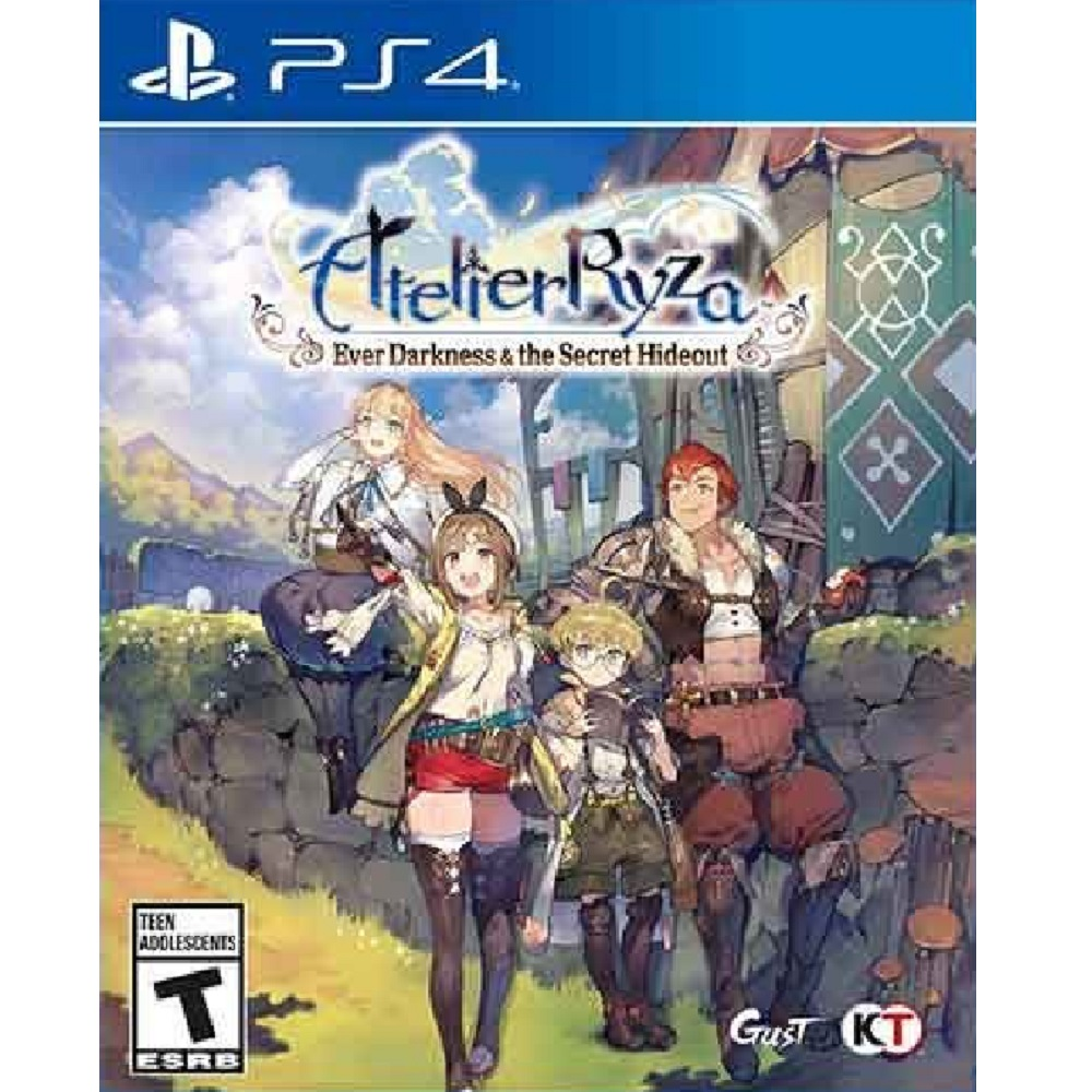 PS4 Atelier Ryza : Ever Darkness & Secret Hideout (Basic) Digital Download
