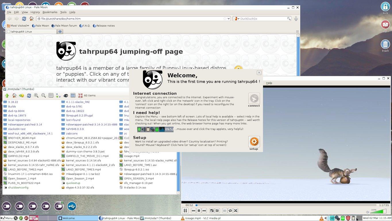 Puppy Linux, una de las mejores distribuciones de Linux más rápidas y ligeras.