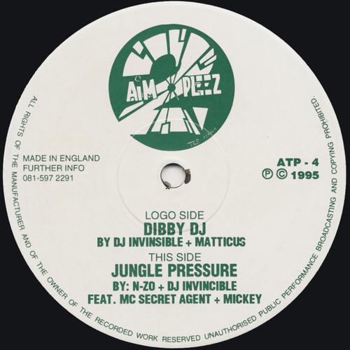 DJ Invincible - Dibby DJ / Jungle Pressure