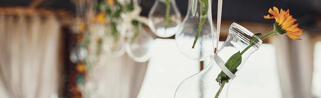 floral-decor-glass-bottles