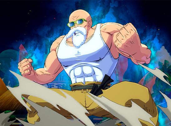¡Maestro Roshi se une oficialmente a la pelea en DRAGON BALL FighterZ el 18 de septiembre!