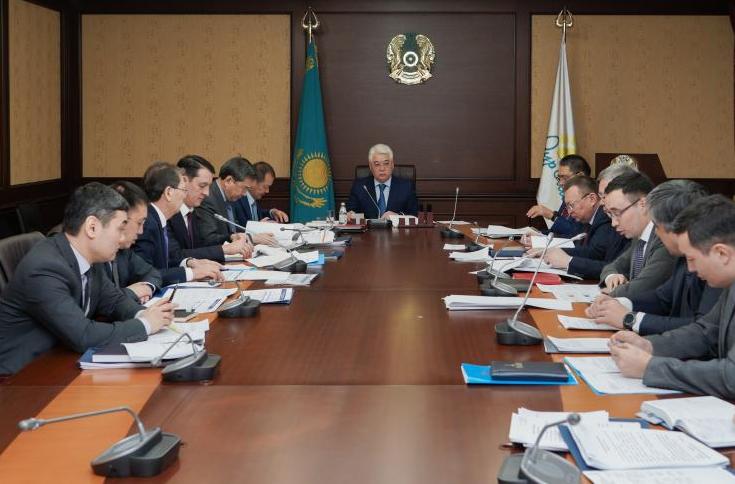 12.02.2020 В МИИР РК состоялось заседание Совета по отраслевым вопросам