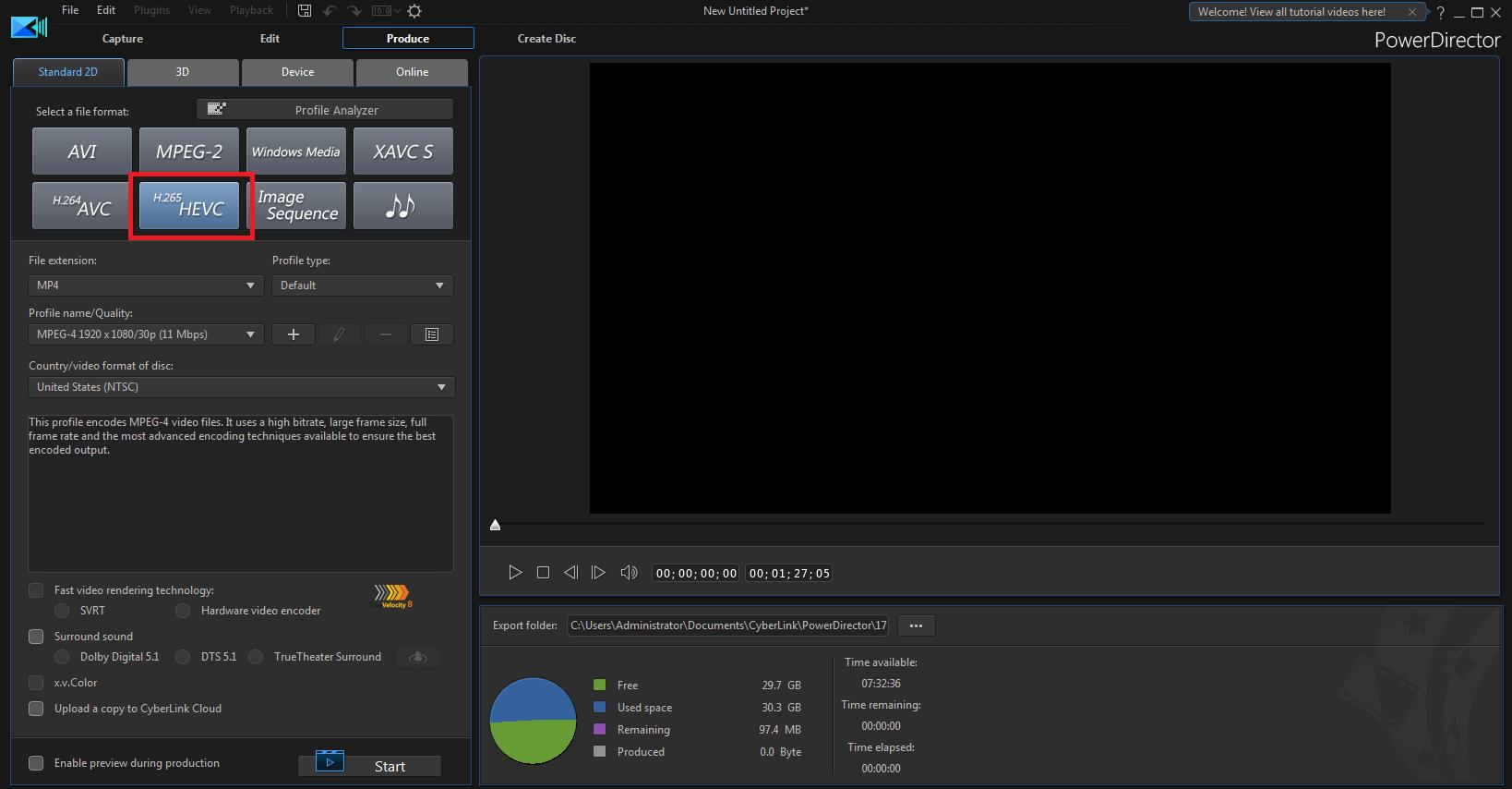 افضل برامج انتاج الفيديو والأفلام