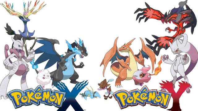 Pokémon X et Pokemon Y