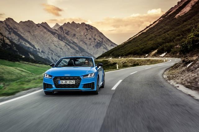 Accent sportif : l'Audi TTS competition plus A208527-medium