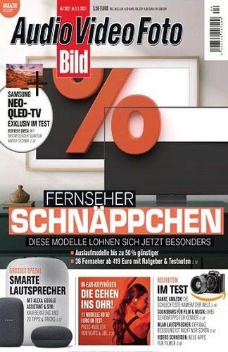 Cover: Audio Video Foto Bild Magazin No 04 April 2021
