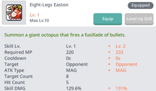 eight legs easton