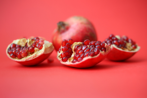 An image of a pomegranate