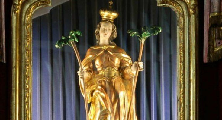 ZAŠTITNICA OD EPIDEMIJE! Njemačka katedrala izvukla iz riznice relikvije mučenice sv. Korone