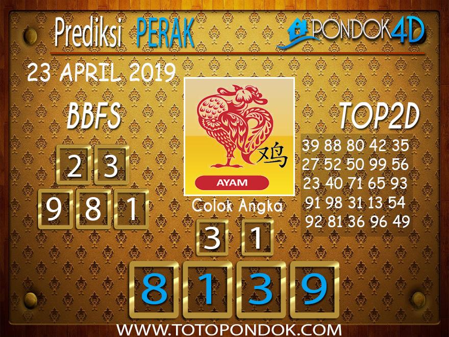 Prediksi Togel PERAK PONDOK4D 23 APRIL 2019