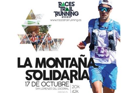 """""""La Montaña Solidaria"""" del circuito Races Trail Running, se celebrará el 17 de octubre en San Lorenzo de El Escorial"""