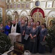 8 января в храме Донской иконы Божией Матери состоялся традиционный вечер Рождественских колядок