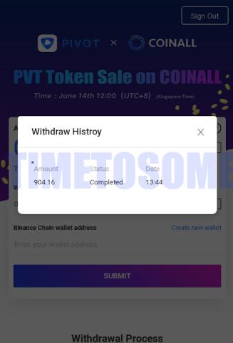 OPORTUNIDADE [Provado] Pivot - Ganha PVT tokens e Bitcoin - Android/iOS (Actualizado em Julho de 2019) PVTproofff