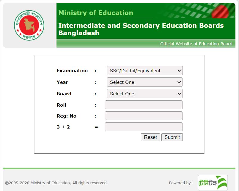 SSC-Result-2021-Rajshahi-Board