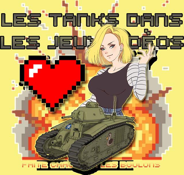 Les tanks dans les jeux vidéos Tanktitre2