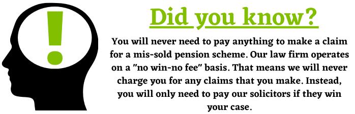 No win-no fee basis help