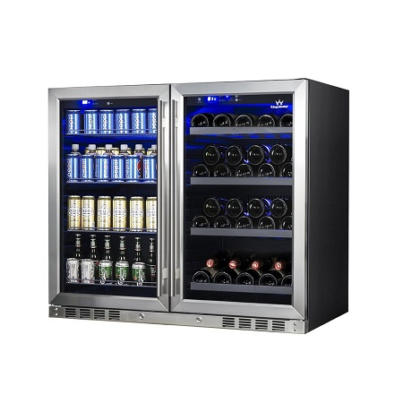 KBU28-LR-wine-and-beer-cooler-refrigerator-combo-kingsbottle-1024x1024