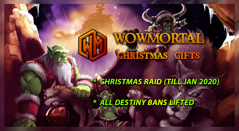 WoWMortal Christmas Gifts
