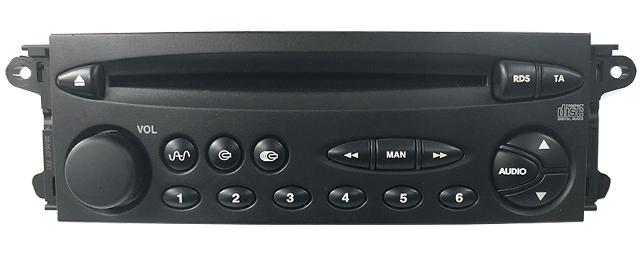 CARAV 11-255 1-DIN Marco de pl/ástico para Radio para Citroen Xsara Picasso 1999-2010