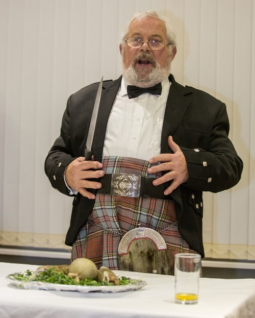 Burns Supper, Scottish vacation