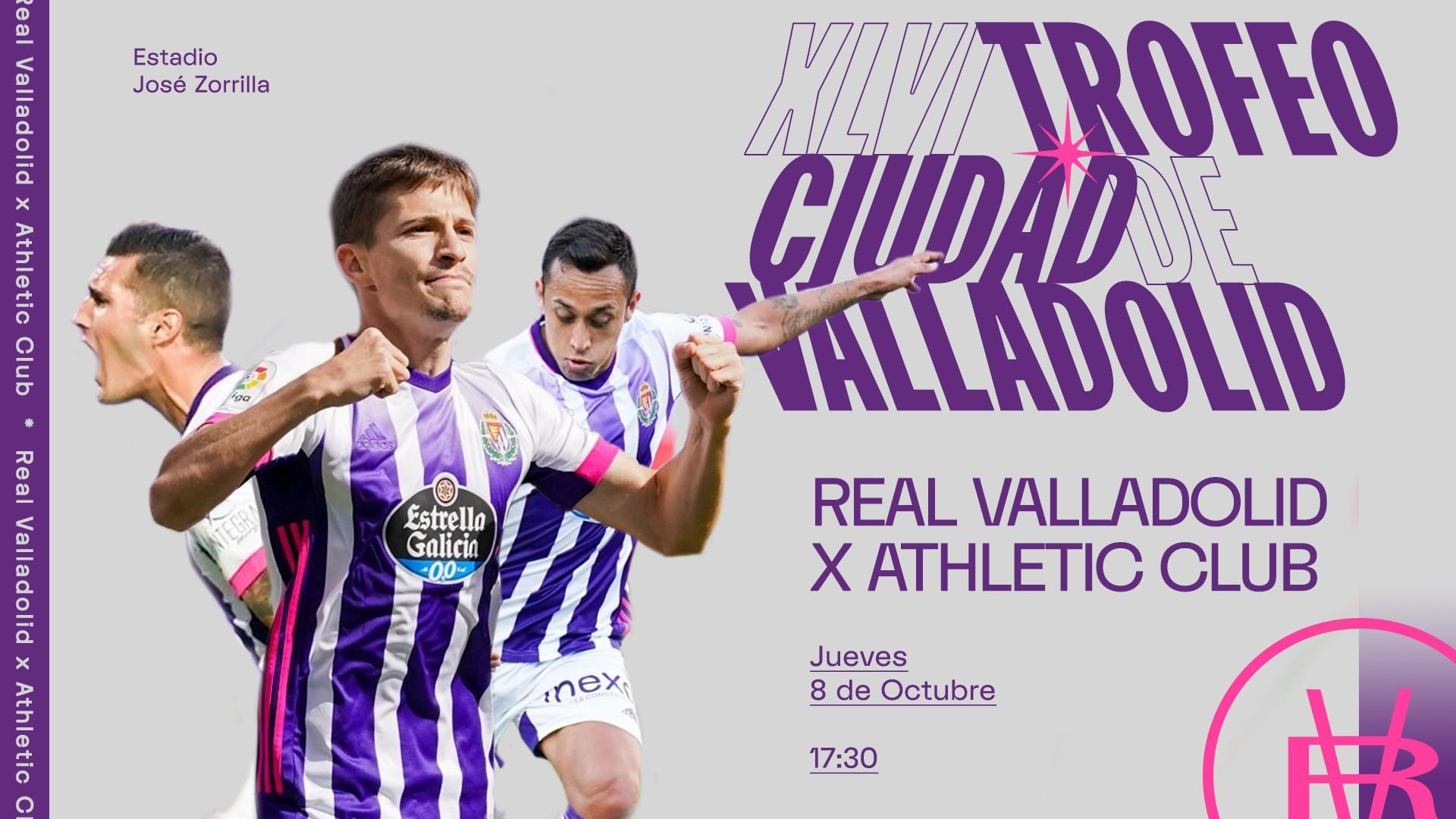 XLVI Trofeo Ciudad de Valladolid. Real Valladolid C.F. - Athletic Club de Bilbao. Trofeo-Ciudad