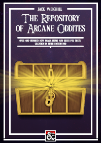Repository of Arcane Oddities on the DMs Guild