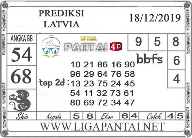 PREDIKSI TOGEL LATVIA PANTAI4D 18 DESEMBER 2019