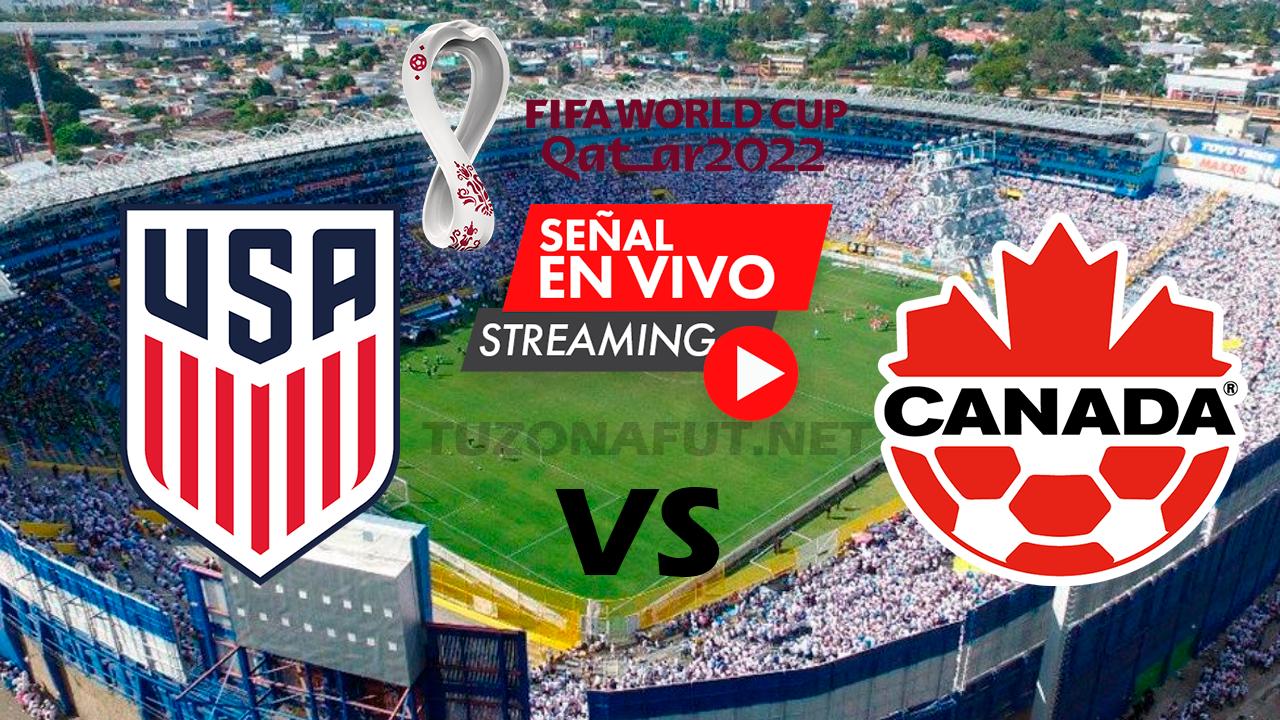 Estados Unidos vs Canadá Eliminatorias Mundial Qatar 2022