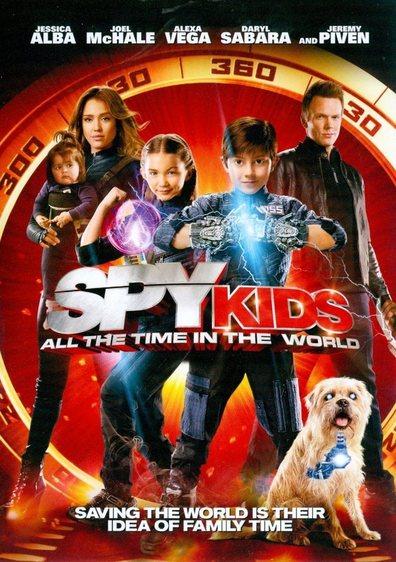 ჯაშუში ბავშვები 4,SPY KIDS 4: ALL THE TIME IN THE WORLD