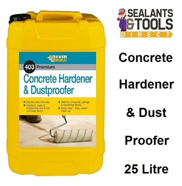 Everbuild 403 Concrete Hardener Dustproofer 25 Litre CHDU25