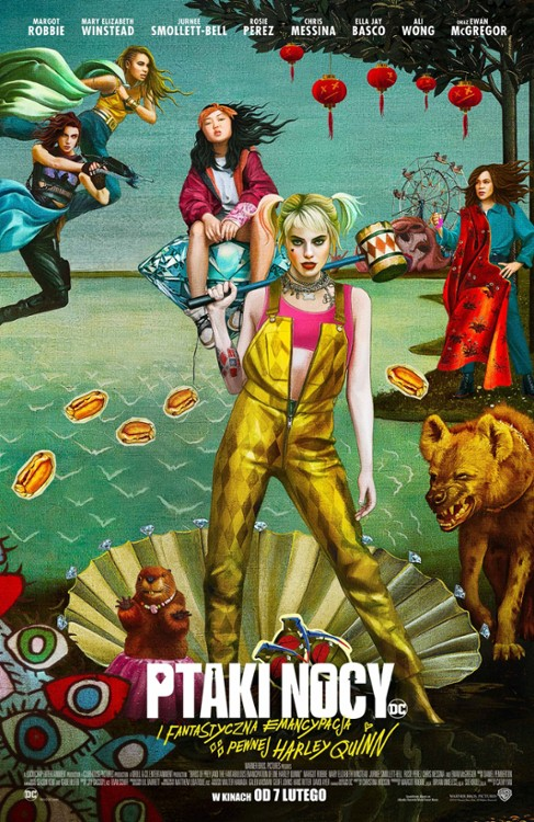 Harley Quinn: Ptaki Nocy / Harley Quinn: Birds of Prey (2020) PLSUBBED.HC.HDRip.XViD-MORS / Napisy PL