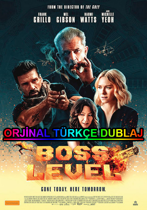Boss Level | 2021 | BDRip | XviD | Türkçe Dublaj | m720p - m1080p | BluRay | Dual | TR-EN | Tek Link