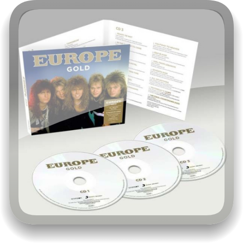 Europe - Gold [3CD] (2021) (MP3|320)