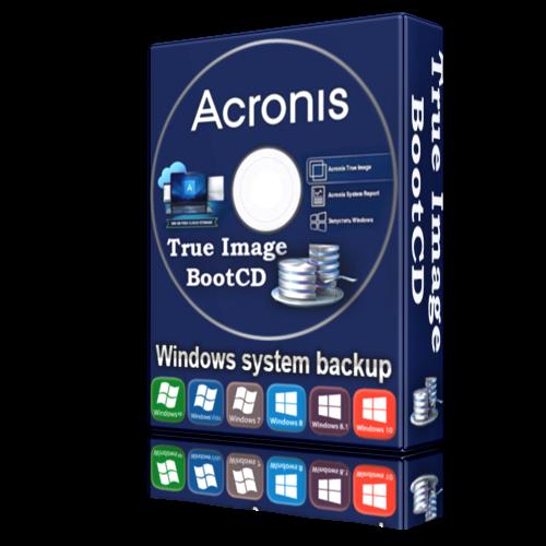 Acronis BootCD 2020