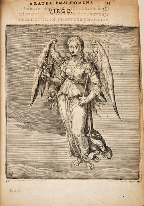 An image of Virgo from 1600.