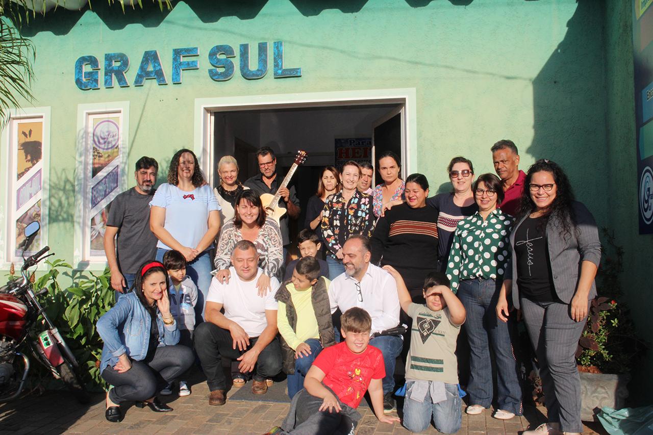 A reunião aconteceu na Graf-Sul