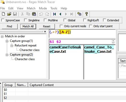 Regex-camel-fails-x2-Mtrace-Tool-OK