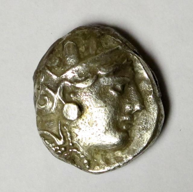 (otro) Tetradracma de Atenas, este sobre 287-262 a.C. Ot08